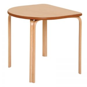 Gamma D End Shaped Table